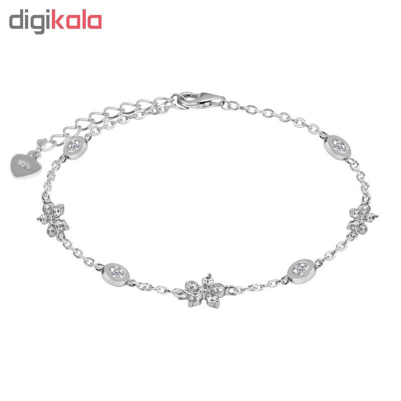 دستبند نقره زنانه اقلیمه کد DN327