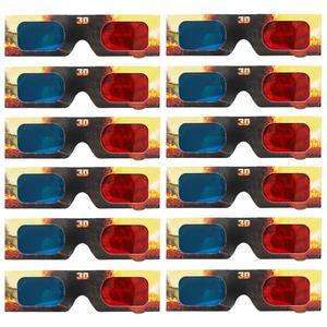 عینک سه بعدی مدل 001zippleback بسته 12 عددی