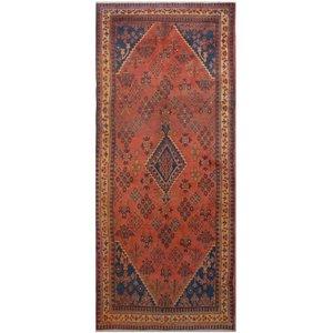 فرش دستبافت قدیمی چهار و نیم متری فرش هریس کد 101488