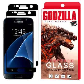 محافظ صفحه نمایش گودزیلا مدل GGF مناسب برای گوشی موبایل سامسونگ Galaxy S7 بسته 2 عددی