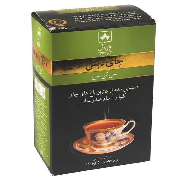 چای دبش مدل سی تی سی  مقدار ۵۰۰ گرم
