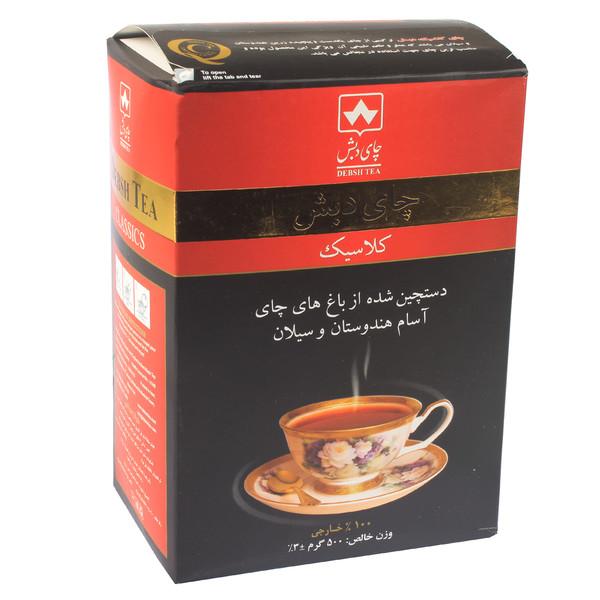 چای کلاسیک دبش مقدار ۵۰۰ گرم