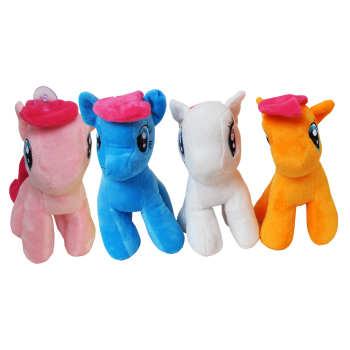 عروسک طرح اسب مدل پونی بسته 4 عددی