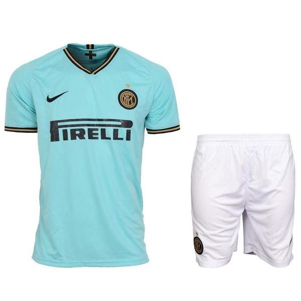 ست پیراهن و شورت ورزشی مردانه طرح اینتر میلان کد 20-19 away رنگ سبز