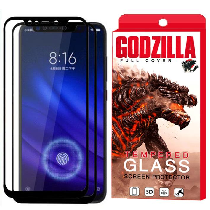 محافظ صفحه نمایش گودزیلا مدل GGF مناسب برای گوشی موبایل شیائومی Mi 8 Pro بسته 2 عددی