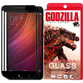 محافظ صفحه نمایش گودزیلا مدل GGF مناسب برای گوشی موبایل شیائومی Redmi Note 4X بسته 2 عددی