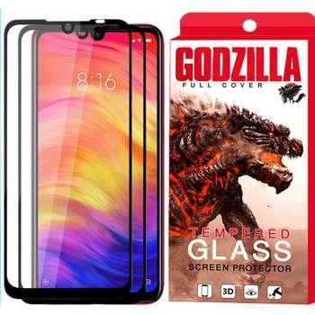 محافظ صفحه نمایش گودزیلا مدل GGF مناسب برای گوشی موبایل شیائومی Redmi Note 7 بسته 2 عددی