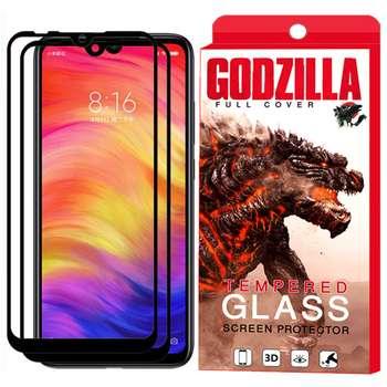 محافظ صفحه نمایش گودزیلا مدل GGF مناسب برای گوشی موبایل شیائومی Redmi Note 7 Pro بسته 2 عددی