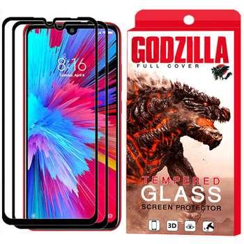 محافظ صفحه نمایش گودزیلا مدل GGF مناسب برای گوشی موبایل شیائومی Redmi Note 7s بسته 2 عددی