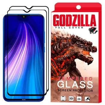 محافظ صفحه نمایش گودزیلا مدل GGF مناسب برای گوشی موبایل شیائومی Redmi Note 8 بسته 2 عددی