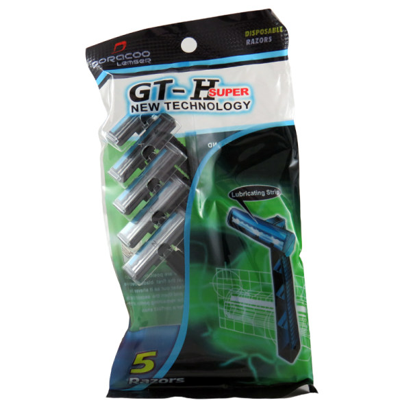 خود تراش لمسر مدل GT-H بسته 5 عددی