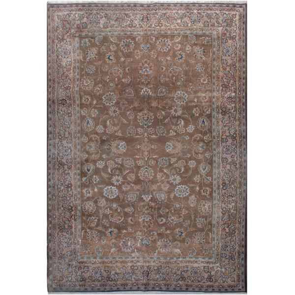 فرش دستبافت رنگ شده شش متری فرش هریس کد 101475