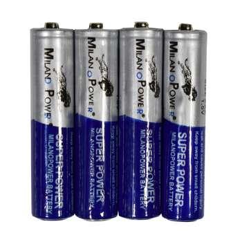 باتری نیم قلمی میلانو مدل SH:201 بسته 4 عددی