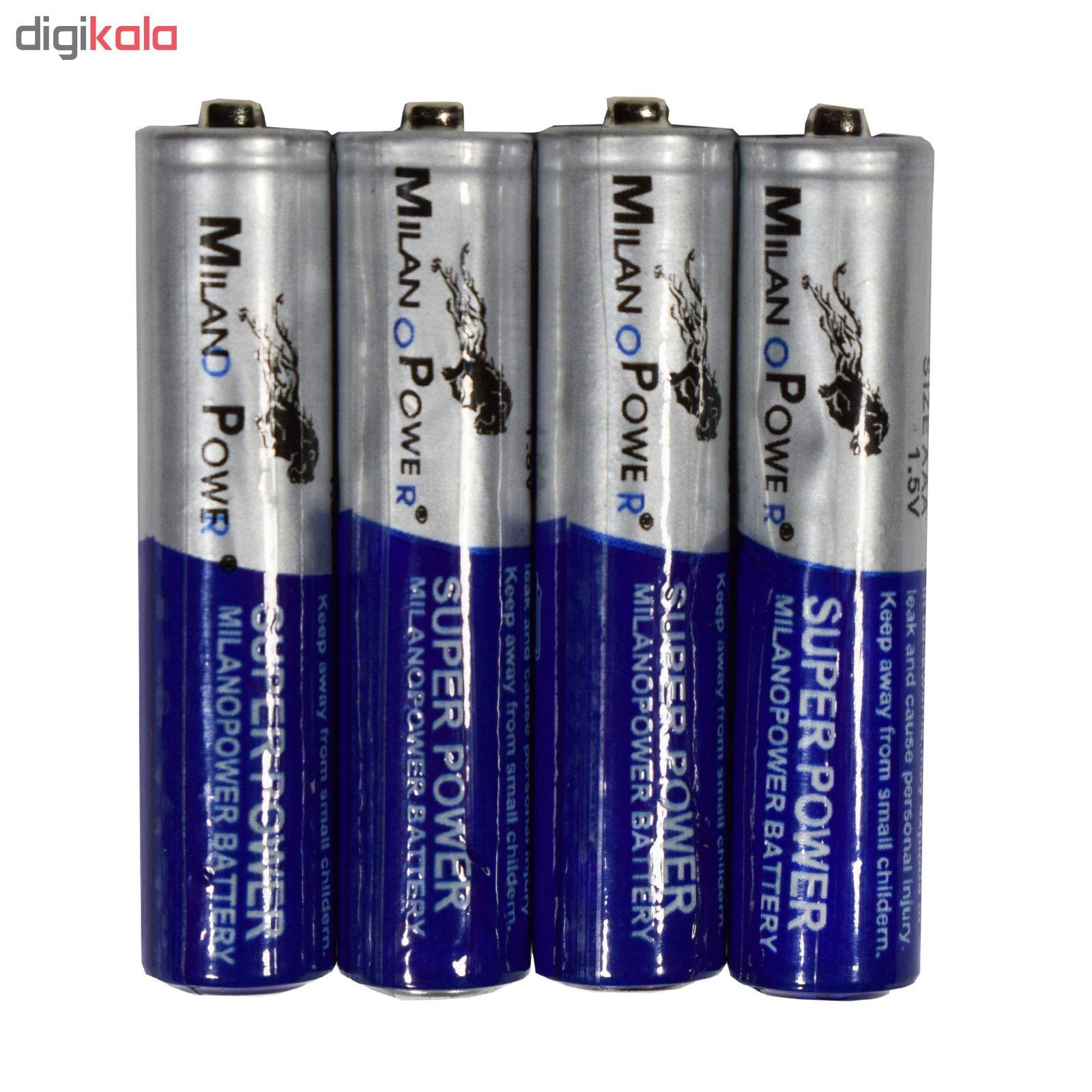 باتری نیم قلمی میلانو مدل SH:201 بسته 4 عددی main 1 3