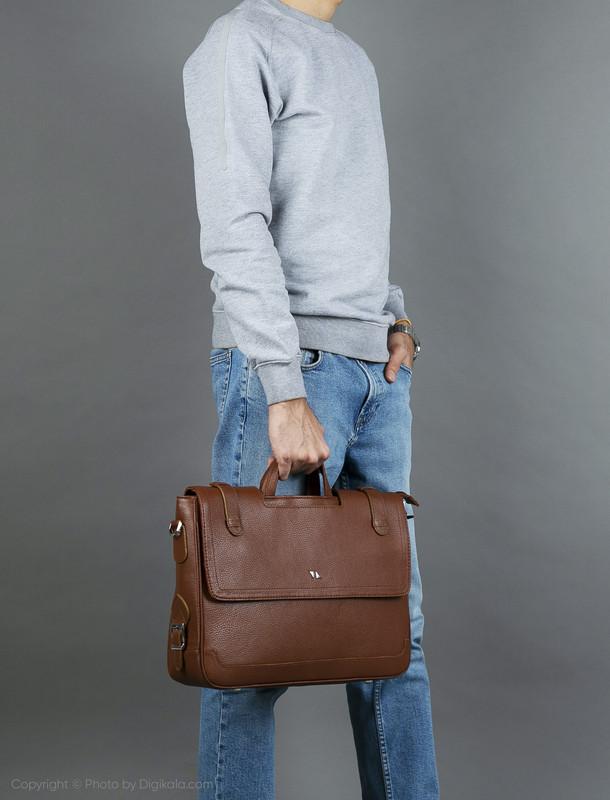 کیف اداری مردانه چرم مشهد مدل A0121