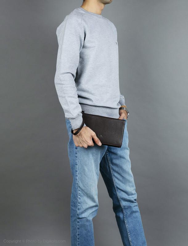 کیف دستی مردانه چرم مشهد مدل P0960