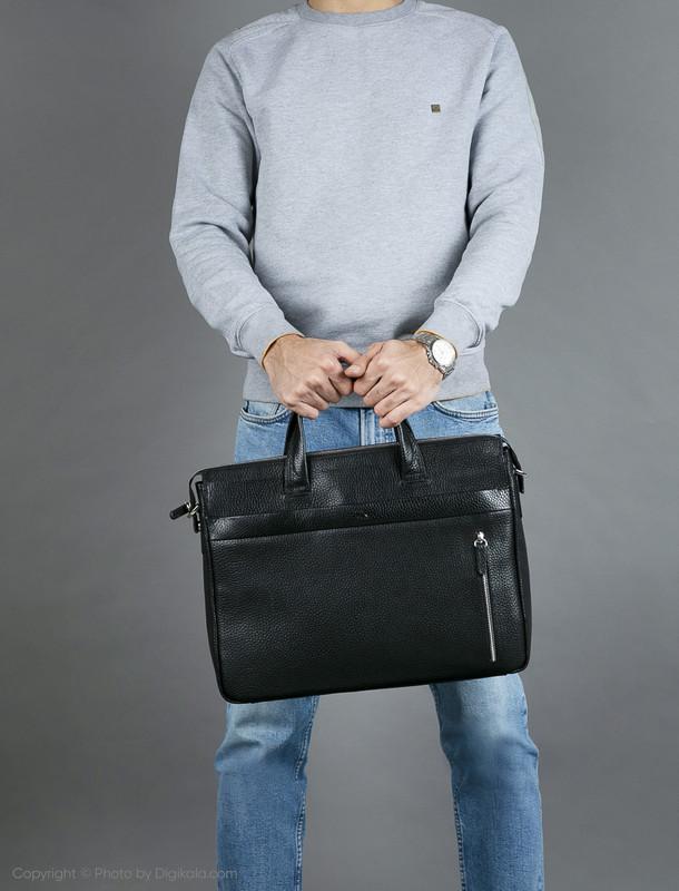 کیف اداری مردانه چرم مشهد مدل A0A5560583