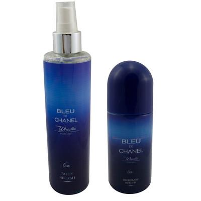تصویر بادی اسپلش مردانه ویسل مدل Bleu De CHanel حجم 250 میلی لیتر به همراه رول ضد تعریق حجم 65 میلی لیتر