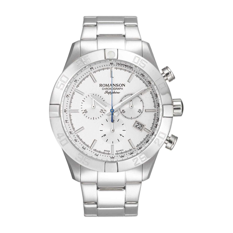 قیمت و خرید                      ساعت مچی عقربه ای مردانه رومانسون مدل TM8A12HMWWASR5
