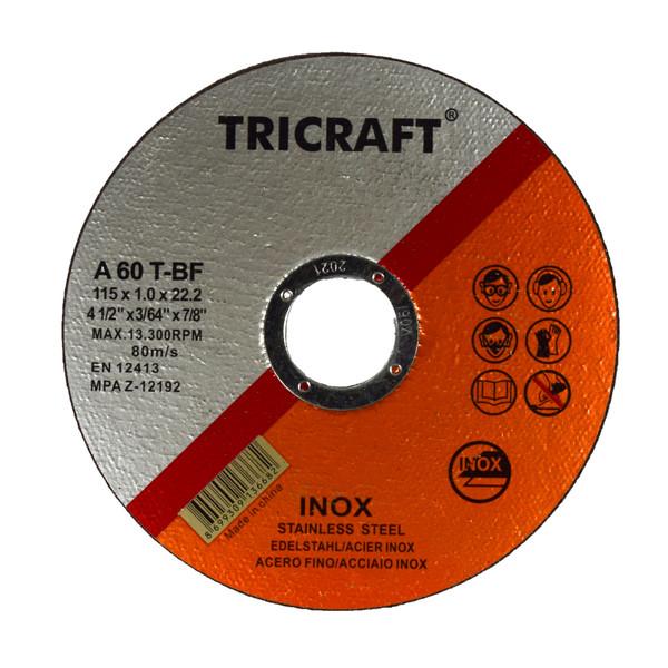 صفحه سنگ برش استیل تری کرافت مدل TR-1151