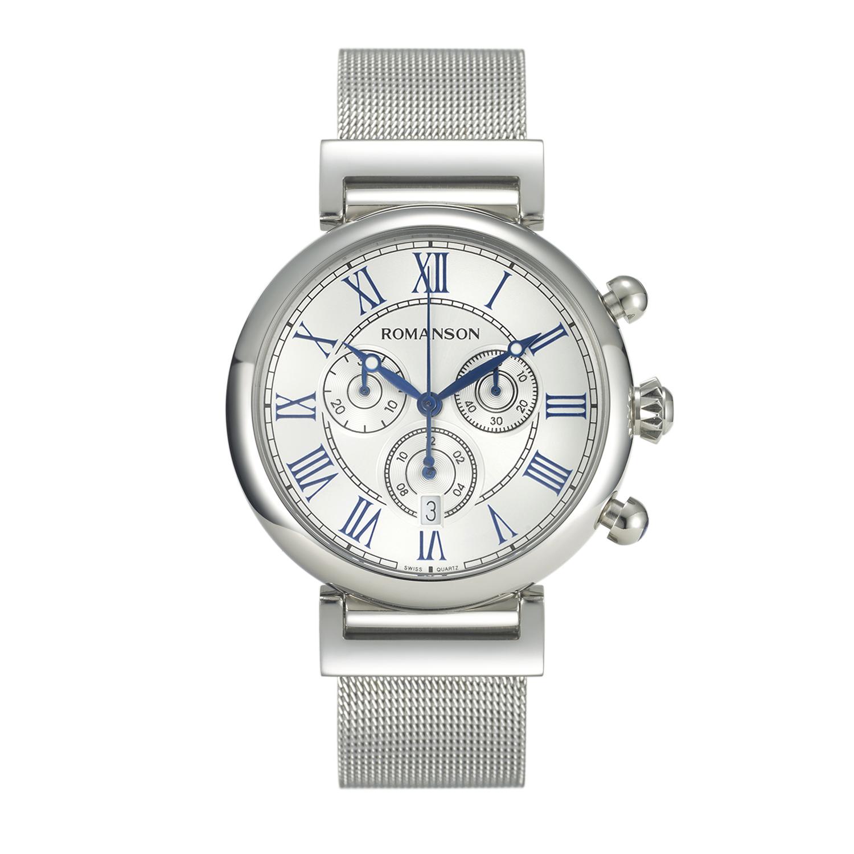 کد تخفیف                                      ساعت مچی عقربه ای مردانه رومانسون مدل TM7A08HMWWA1R5