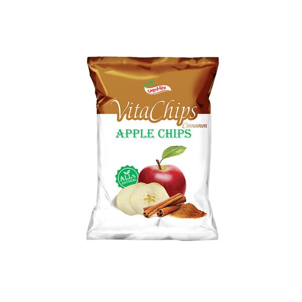 چیپس سیب دارچینی ویتاچیپس مقدار 40 گرم