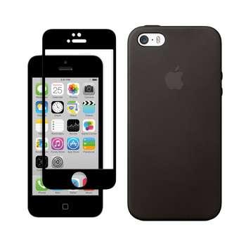 کاور مسیر مدل SLC-MGF-1 مناسب برای گوشی موبایل اپل iPhone 5/5S/SE به همراه محافظ صفحه نمایش
