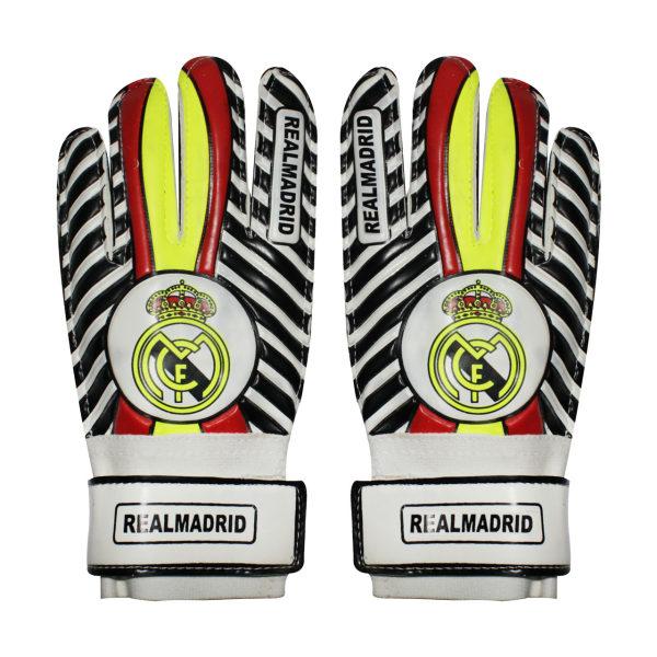 دستکش دروازه بانی پسرانه مدل Real Madrid کد 03
