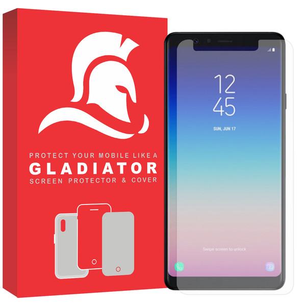 محافظ صفحه نمایش گلادیاتور مدل GLS1000 مناسب برای گوشی موبایل سامسونگ Galaxy A9 2018