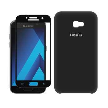 کاور مسیر مدل SLC-MGF-1 مناسب برای گوشی موبایل سامسونگ Galaxy A5 2017/A520 به همراه محافظ صفحه نمایش