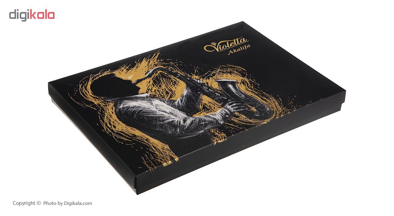 شکلات مغزدار ویولتا آکالیفیا مدل Music مقدار 187 گرم