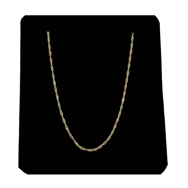زنجیر طلا 18 عیار زنانه کد Z104