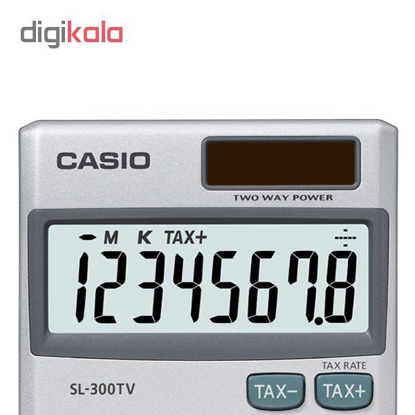قیمت                      ماشین حساب کاسیو مدل SL-300TV
