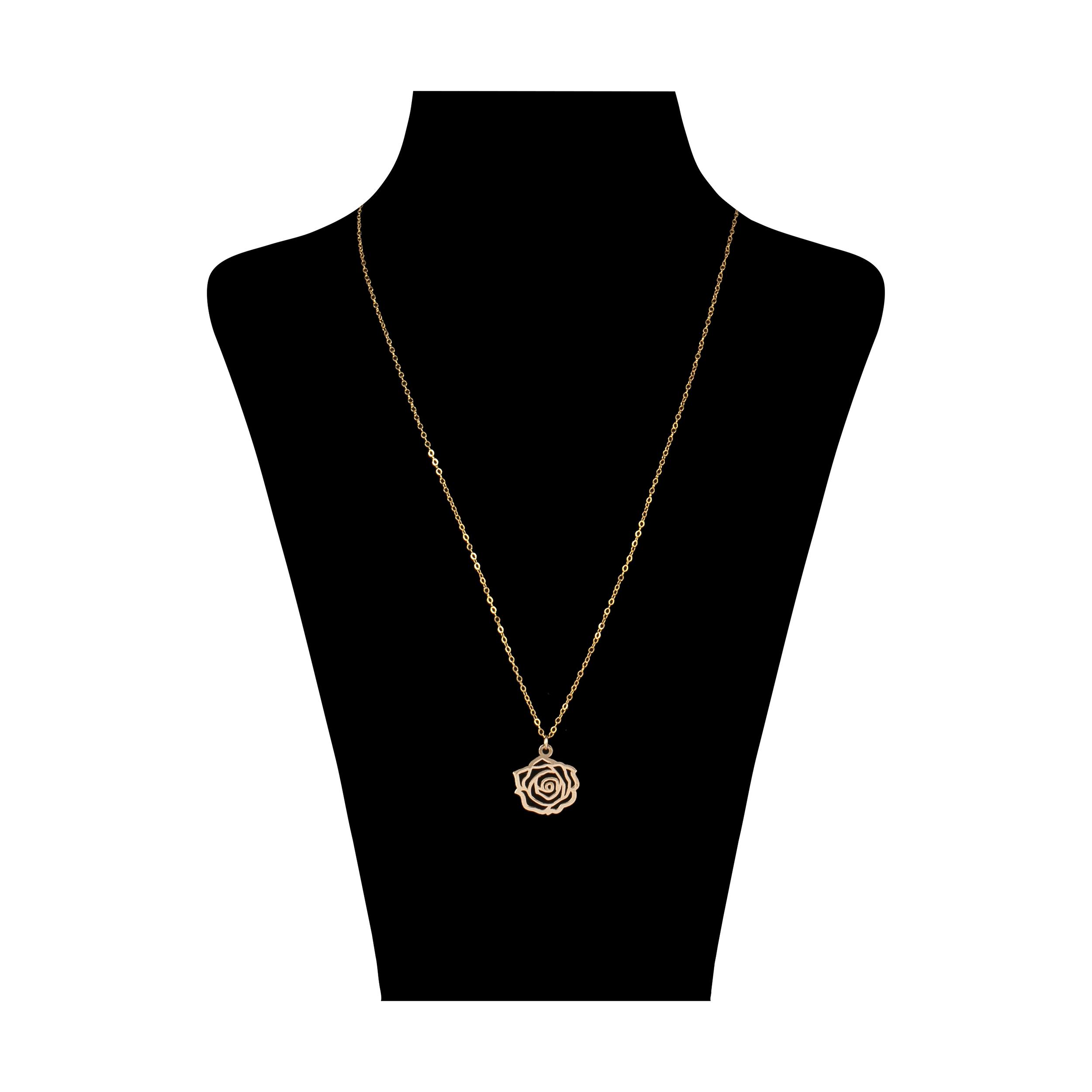 گردنبند طلا ۱۸ عیار زنانه مایا ماهک مدل MM0959