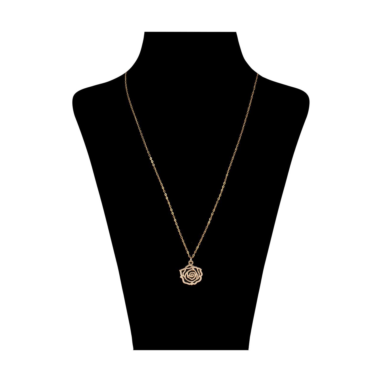 گردنبند طلا 18 عیار زنانه مایا ماهک مدل MM0959 -  - 2