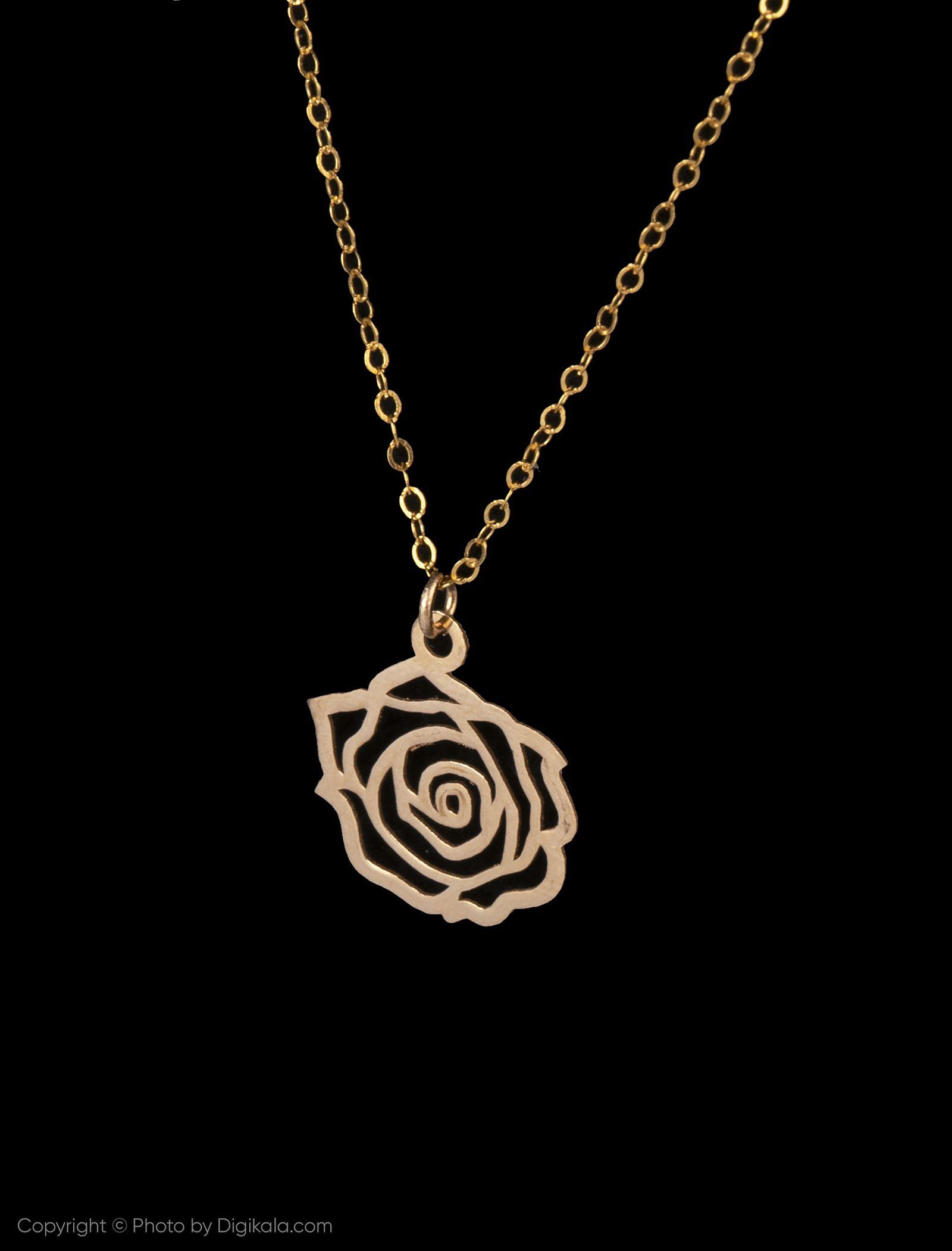 گردنبند طلا 18 عیار زنانه مایا ماهک مدل MM0959 -  - 3
