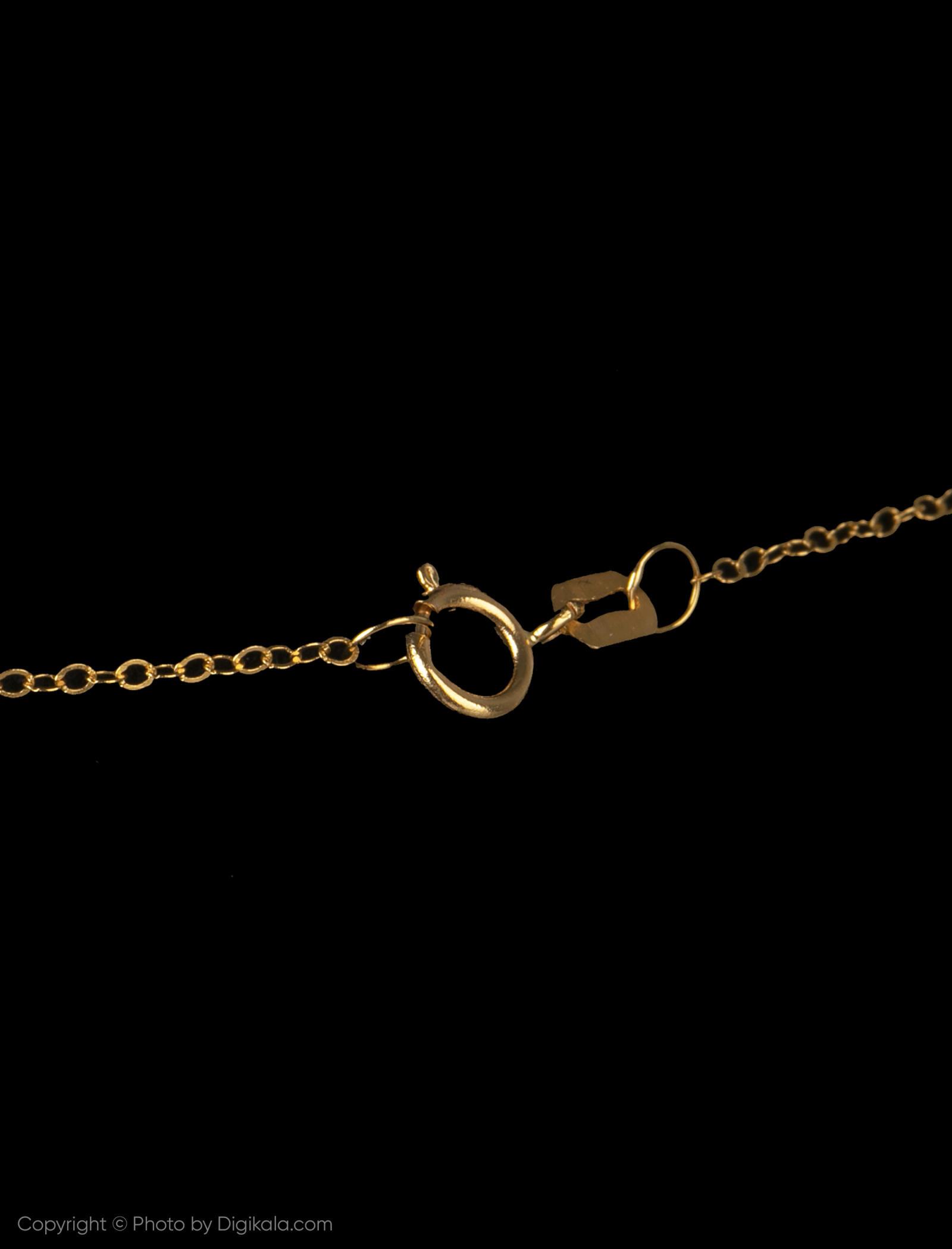 گردنبند طلا 18 عیار زنانه مایا ماهک مدل MM0959 -  - 4