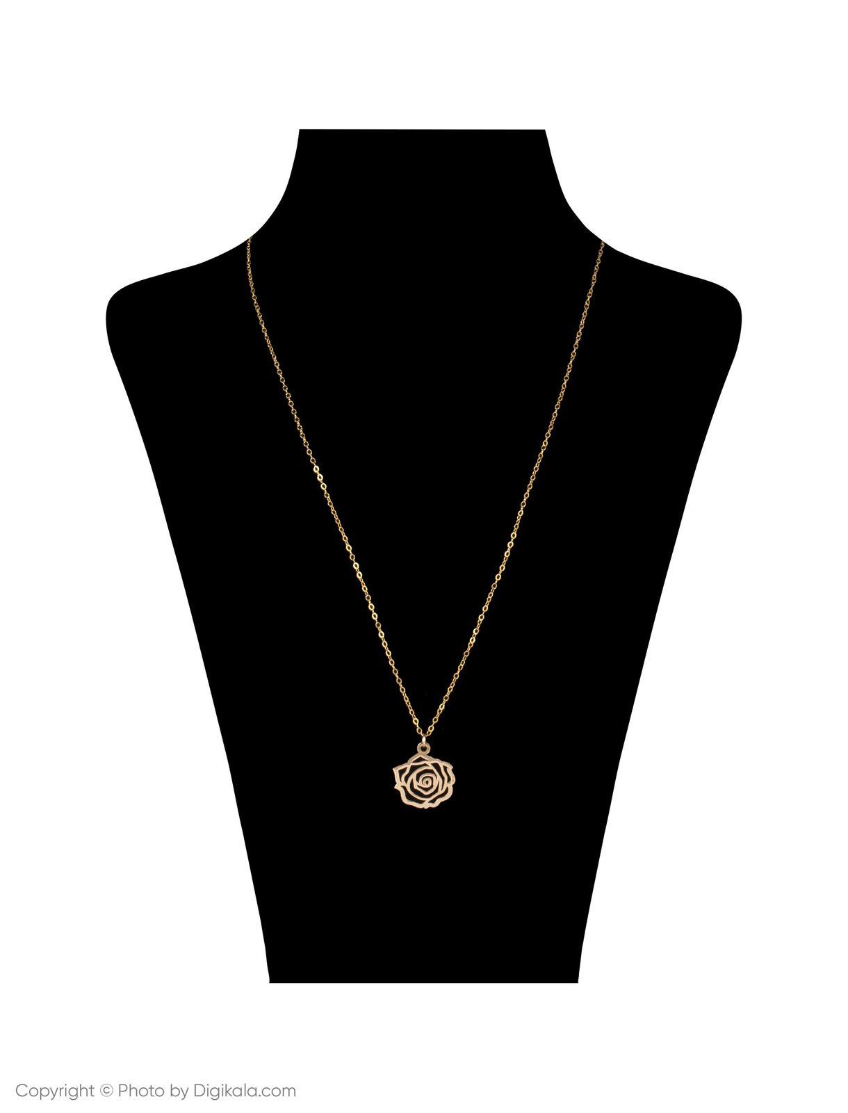 گردنبند طلا 18 عیار زنانه مایا ماهک مدل MM0959 main 1 4