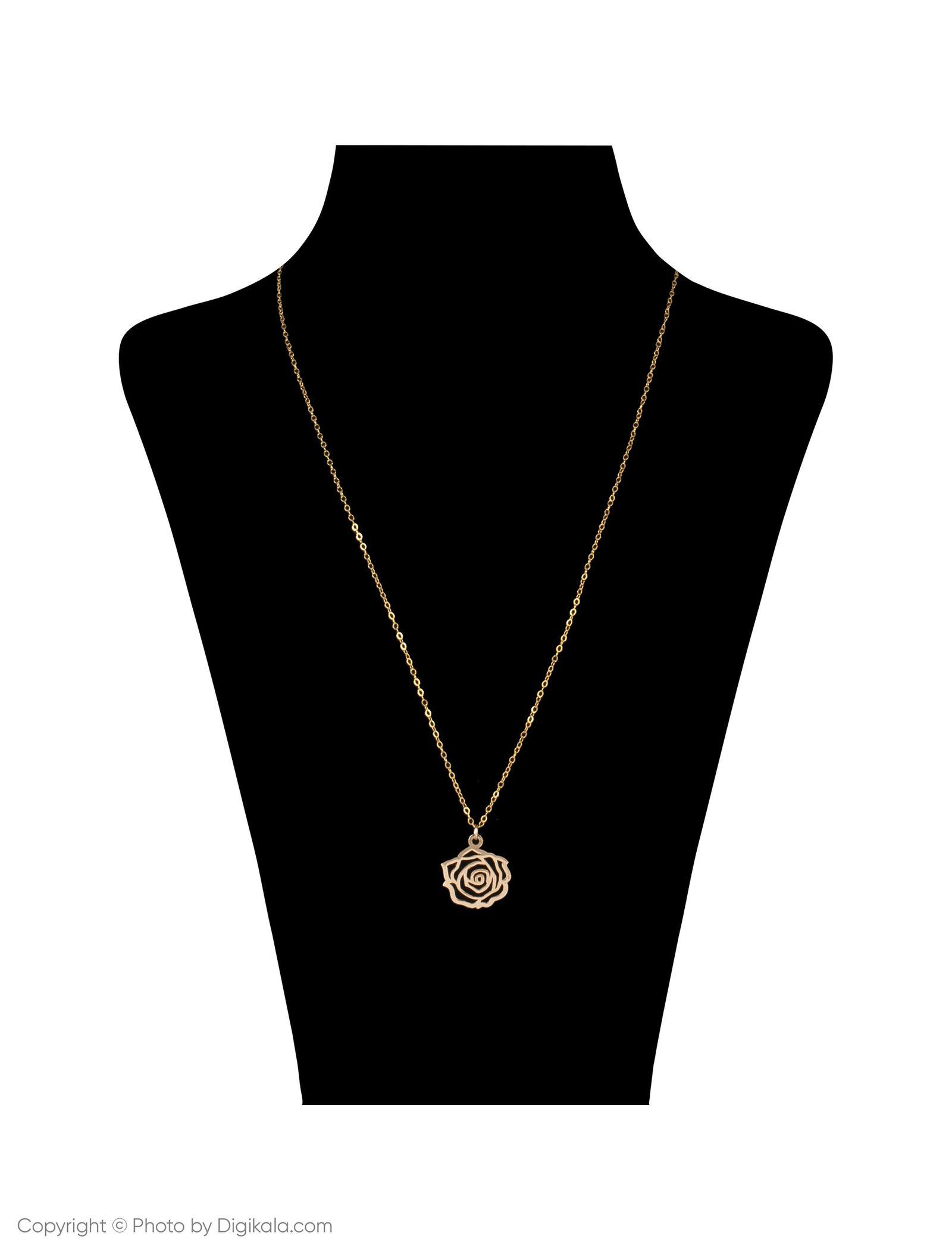 گردنبند طلا 18 عیار زنانه مایا ماهک مدل MM0959 -  - 6