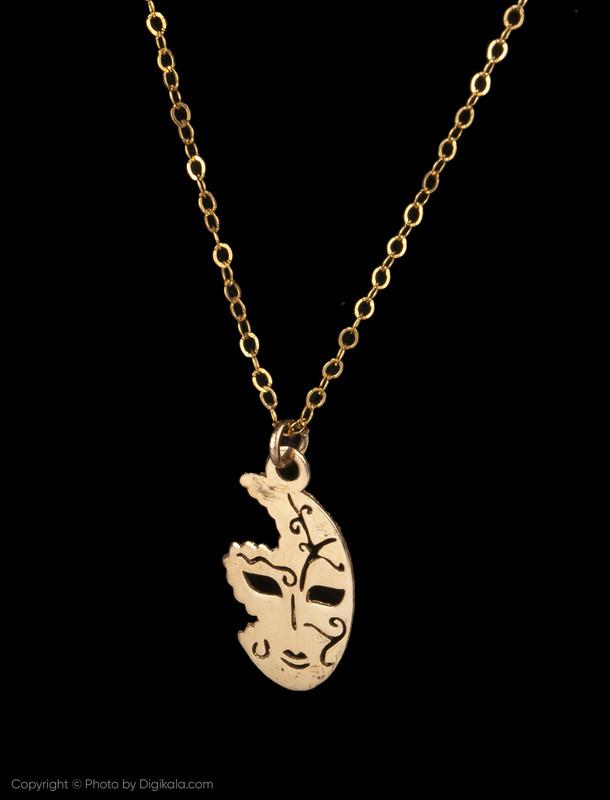 گردنبند طلا 18 عیار زنانه مایا ماهک مدل MM0958