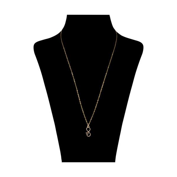 گردنبند طلا 18 عیار زنانه مایا ماهک مدل MM0962