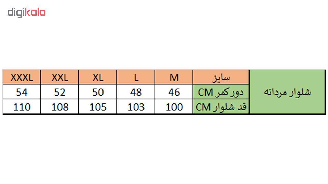 شلوار مردانه زی مدل 153110993ML main 1 6