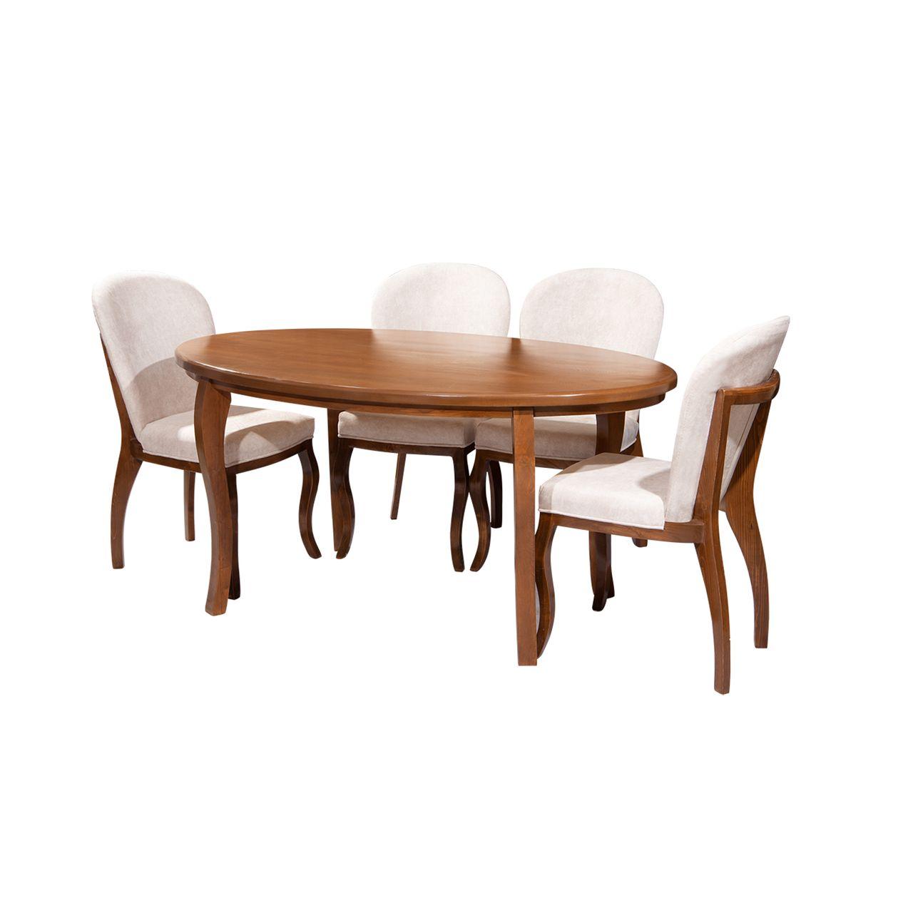 میز و صندلی ناهار خوری مدل پاتریس کد 089