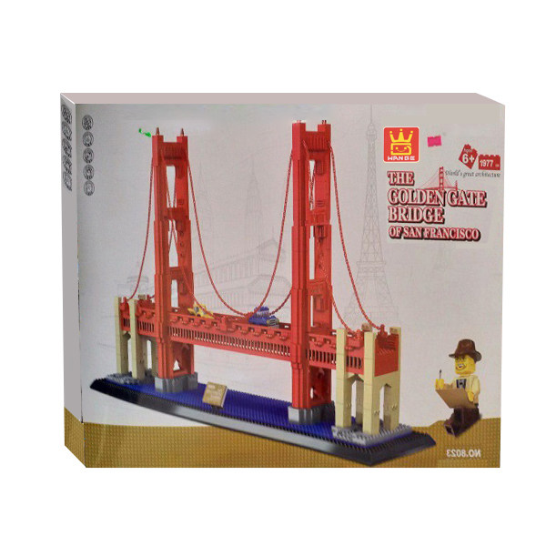 ساختنی وانگه مدل پل سنفرانسیسکو کد 01