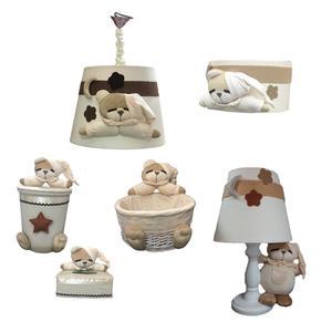 سیسمونی اتاق کودک طرح خرس نانان کد S101 مجموعه 6 عددی