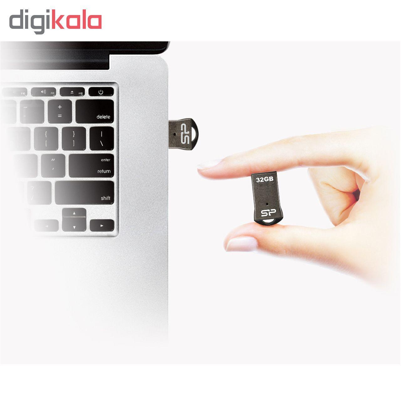 فلش مموری سیلیکون پاور مدل Touch T01 ظرفیت 32 گیگابایت  main 1 5