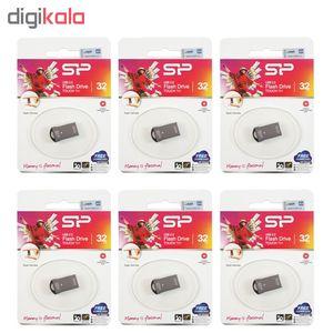فلش مموری سیلیکون پاور مدل Touch T01 ظرفیت 32 گیگابایت بسته 6 عددی  Silicon Power Touch T01 32GB F