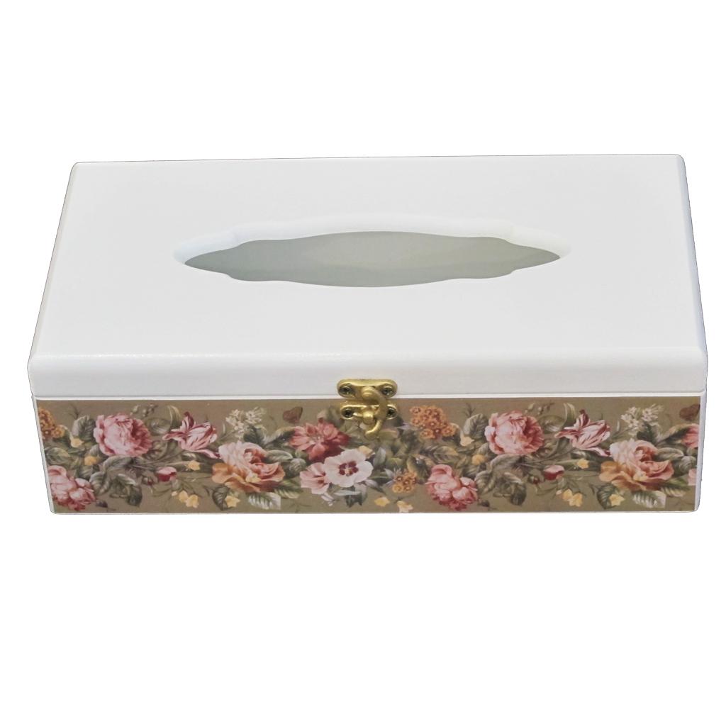 جعبه دستمال کاغذی مدل E08