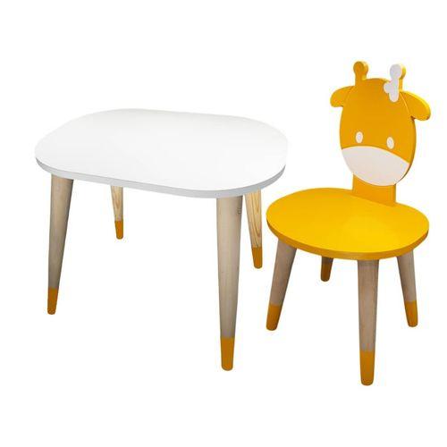 ست میز و صندلی کودک مدل Giraffe2
