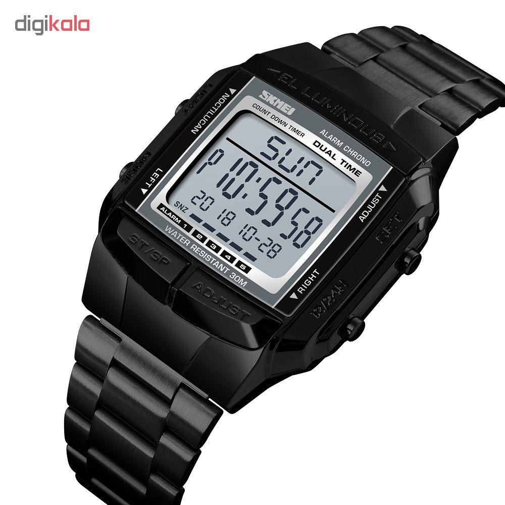 ساعت مچی دیجیتال مردانه اسکمی مدل 1381M